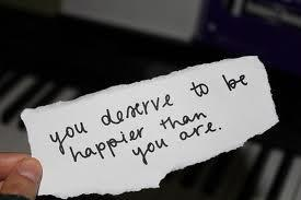 YouDeserveToBeHappier