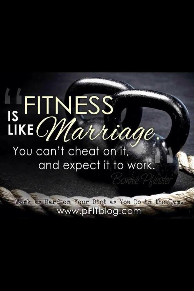 ExerciseIsLikeMarriage