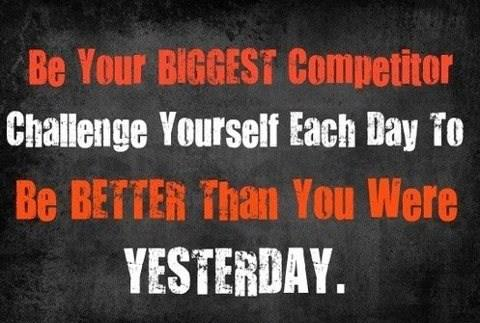 BeYourBiggestCompetitor